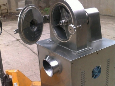 Special disc type pulverizer for chicken essence production line